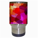 Geometric Fall Pattern Travel Mugs (White) Center