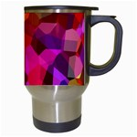 Geometric Fall Pattern Travel Mugs (White) Right