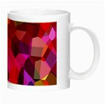 Geometric Fall Pattern Night Luminous Mugs Right