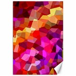 Geometric Fall Pattern Canvas 12  x 18   18 x12 Canvas - 1