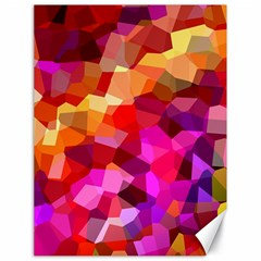 Geometric Fall Pattern Canvas 18  X 24