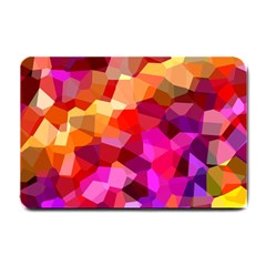 Geometric Fall Pattern Small Doormat