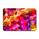 Geometric Fall Pattern Small Doormat  24 x16 Door Mat - 1