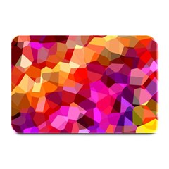Geometric Fall Pattern Plate Mats