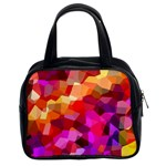 Geometric Fall Pattern Classic Handbags (2 Sides) Front