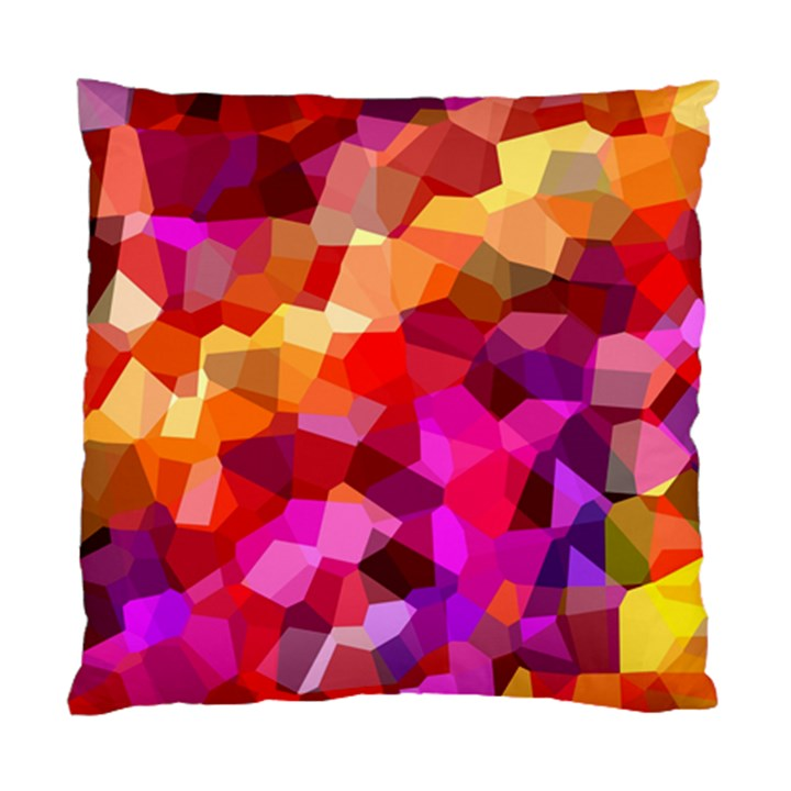 Geometric Fall Pattern Standard Cushion Case (One Side)