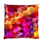 Geometric Fall Pattern Standard Cushion Case (Two Sides) Back