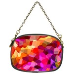 Geometric Fall Pattern Chain Purses (Two Sides)  Back