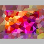 Geometric Fall Pattern Mini Canvas 6  x 4  6  x 4  x 0.875  Stretched Canvas