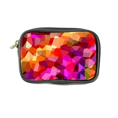 Geometric Fall Pattern Coin Purse