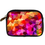 Geometric Fall Pattern Digital Camera Cases Front