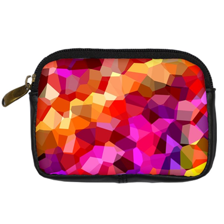 Geometric Fall Pattern Digital Camera Cases