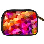 Geometric Fall Pattern Digital Camera Cases Back