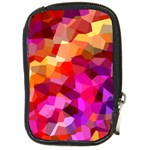 Geometric Fall Pattern Compact Camera Cases Front