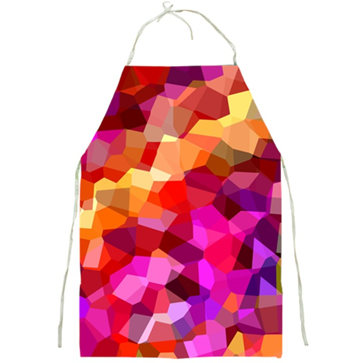 Geometric Fall Pattern Full Print Aprons