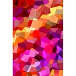 Geometric Fall Pattern 5.5  x 8.5  Notebooks Back Cover Inside