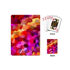 Geometric Fall Pattern Playing Cards (Mini)