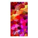 Geometric Fall Pattern Shower Curtain 36  x 72  (Stall)  33.26 x66.24 Curtain