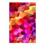 Geometric Fall Pattern Shower Curtain 48  x 72  (Small)  42.18 x64.8 Curtain