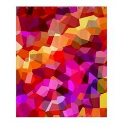 Geometric Fall Pattern Shower Curtain 60  x 72  (Medium)