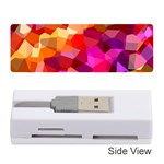Geometric Fall Pattern Memory Card Reader (Stick)  Front