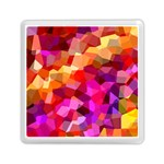 Geometric Fall Pattern Memory Card Reader (Square)  Front