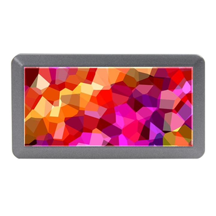 Geometric Fall Pattern Memory Card Reader (Mini)