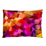 Geometric Fall Pattern Pillow Case (Two Sides) Back