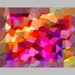 Geometric Fall Pattern Deluxe Canvas 16  x 12   16  x 12  x 1.5  Stretched Canvas