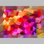 Geometric Fall Pattern Deluxe Canvas 18  x 12   18  x 12  x 1.5  Stretched Canvas