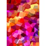 Geometric Fall Pattern BOY 3D Greeting Card (7x5) Inside