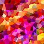 Geometric Fall Pattern YOU ARE INVITED 3D Greeting Card (8x4) Inside