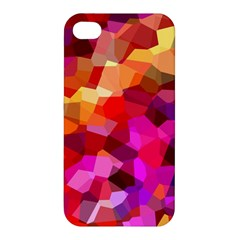 Geometric Fall Pattern Apple iPhone 4/4S Hardshell Case