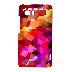 Geometric Fall Pattern HTC Vivid / Raider 4G Hardshell Case