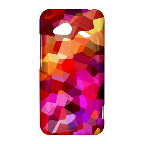 Geometric Fall Pattern HTC Droid Incredible 4G LTE Hardshell Case