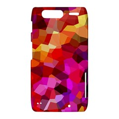 Geometric Fall Pattern Motorola Droid Razr XT912