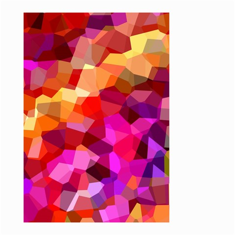 Geometric Fall Pattern Small Garden Flag (Two Sides)