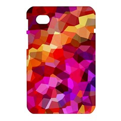 Geometric Fall Pattern Samsung Galaxy Tab 7  P1000 Hardshell Case