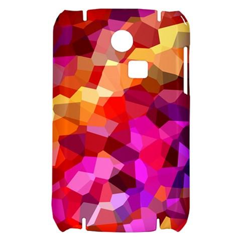 Geometric Fall Pattern Samsung S3350 Hardshell Case