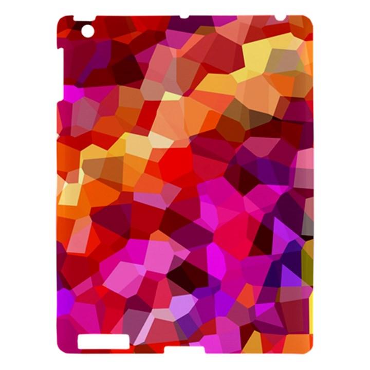 Geometric Fall Pattern Apple iPad 3/4 Hardshell Case