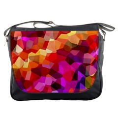 Geometric Fall Pattern Messenger Bags