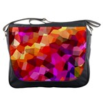Geometric Fall Pattern Messenger Bags Front