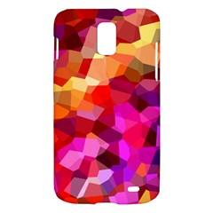 Geometric Fall Pattern Samsung Galaxy S II Skyrocket Hardshell Case