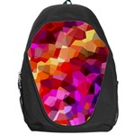 Geometric Fall Pattern Backpack Bag Front