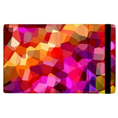 Geometric Fall Pattern Apple Ipad 2 Flip Case