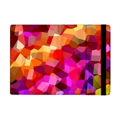 Geometric Fall Pattern Apple iPad Mini Flip Case
