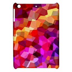 Geometric Fall Pattern Apple iPad Mini Hardshell Case