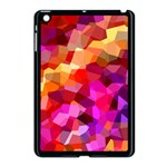 Geometric Fall Pattern Apple iPad Mini Case (Black) Front