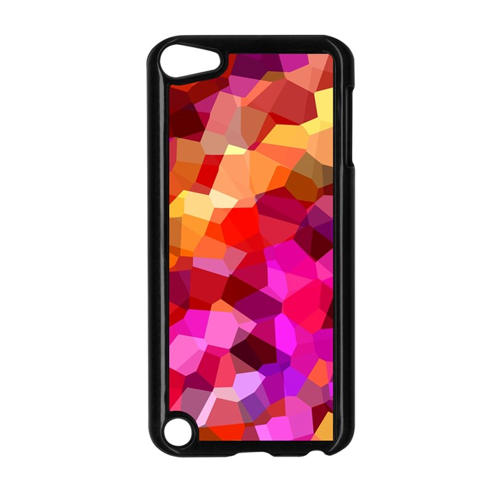 Geometric Fall Pattern Apple iPod Touch 5 Case (Black)