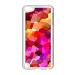 Geometric Fall Pattern Apple iPod Touch 5 Case (White) Front